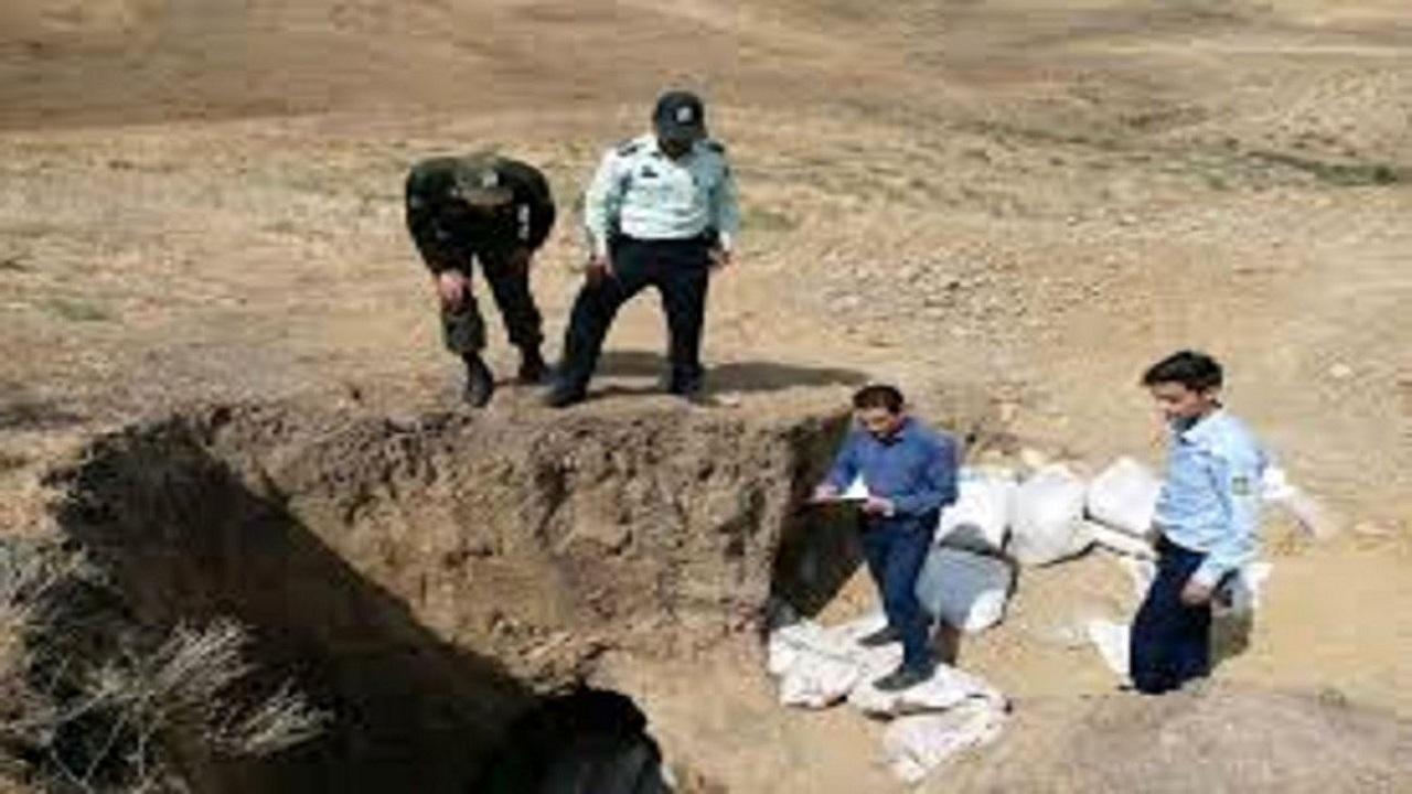 انهدام یک تیم حفاری غیرمجاز در سلماس