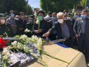 پیکر پاک بسیجیان شهید در سلماس تشییع شد