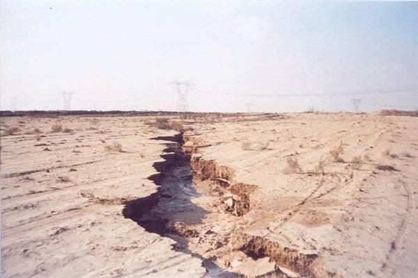 فرونشست زمین ۳ شهرستان آذربایجان غربی را تهدید می کن